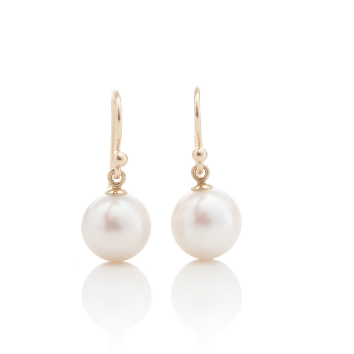 Gump's Freshwater 9.5mm Pearl Drop Earrings