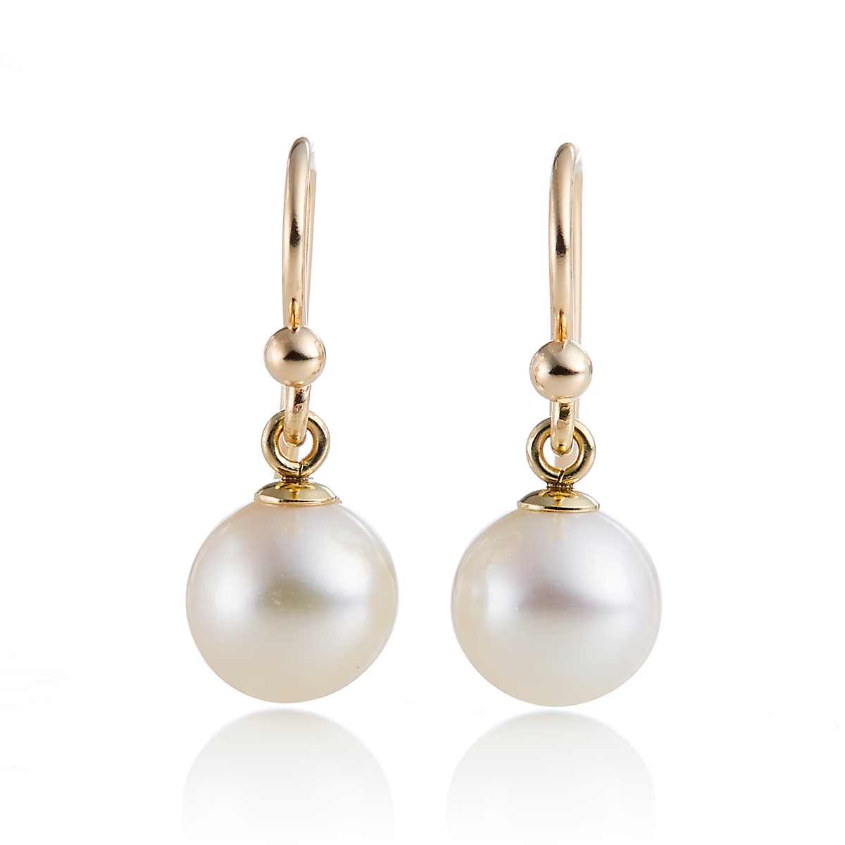 Gump's 8mm Freshwater Pearl Drop Earrings