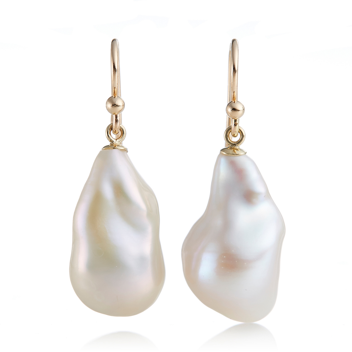 Gump's Freshwater 13mm Pearl Drop Earrings