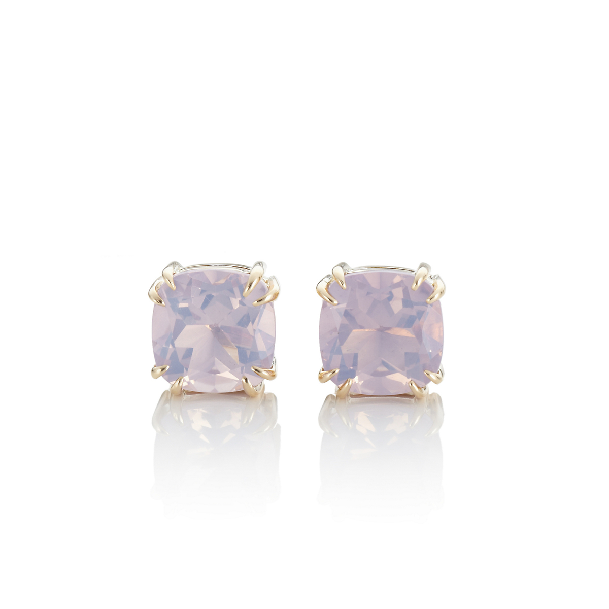 Gump's Lilac Quartz Earrings