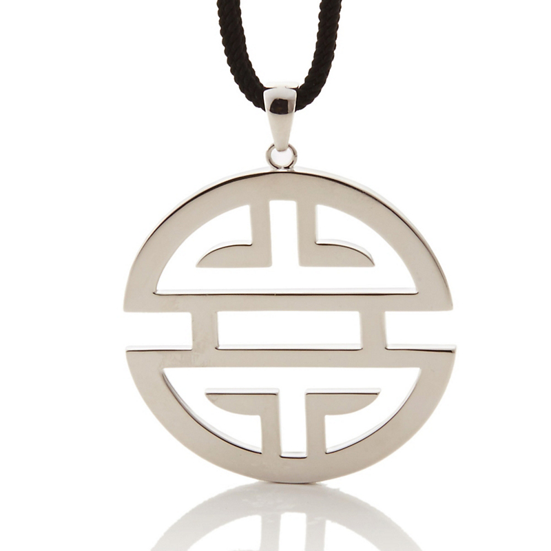 Shou symbol jewelry gumps san francisco gumps large shou cord necklace buycottarizona Image collections