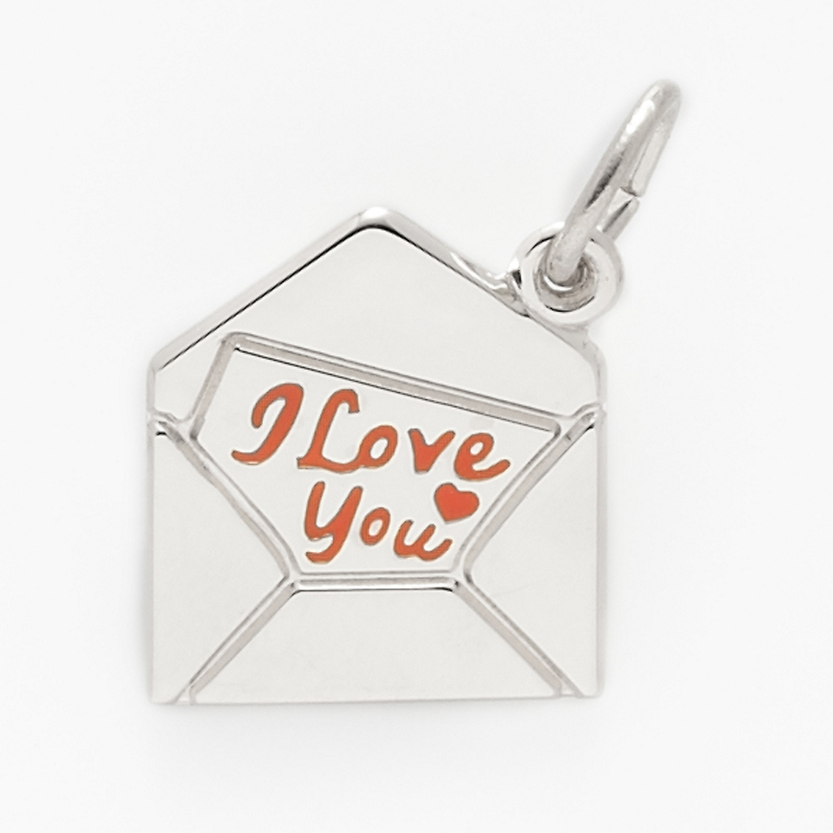 Silver Love Letter Charm