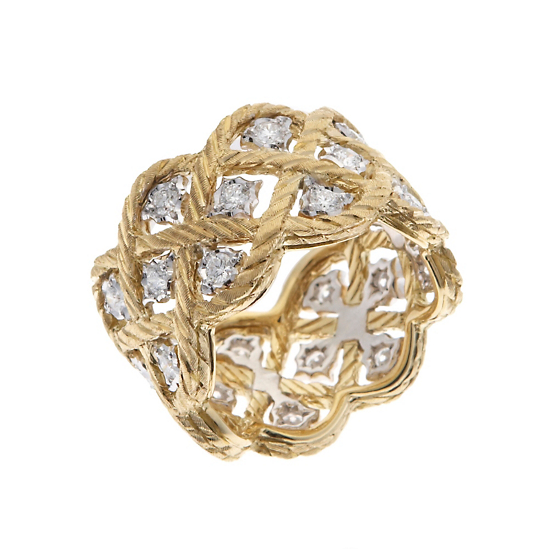 Buccellati Etoilee Diamond Band