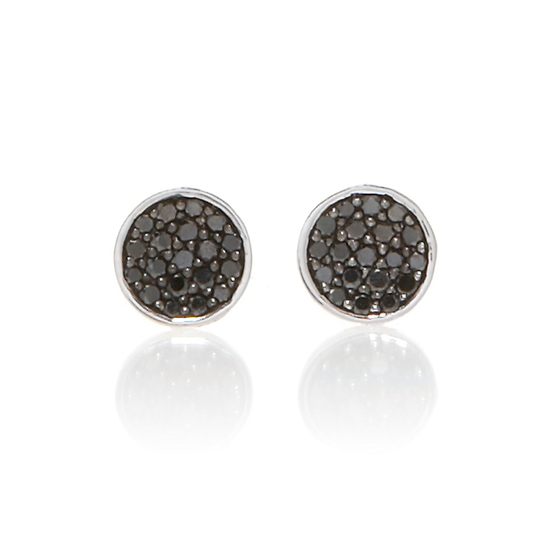 Gump's  Black Diamond Pave Earrings