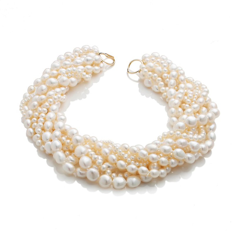Gump's 8-Strand Pearl Necklace