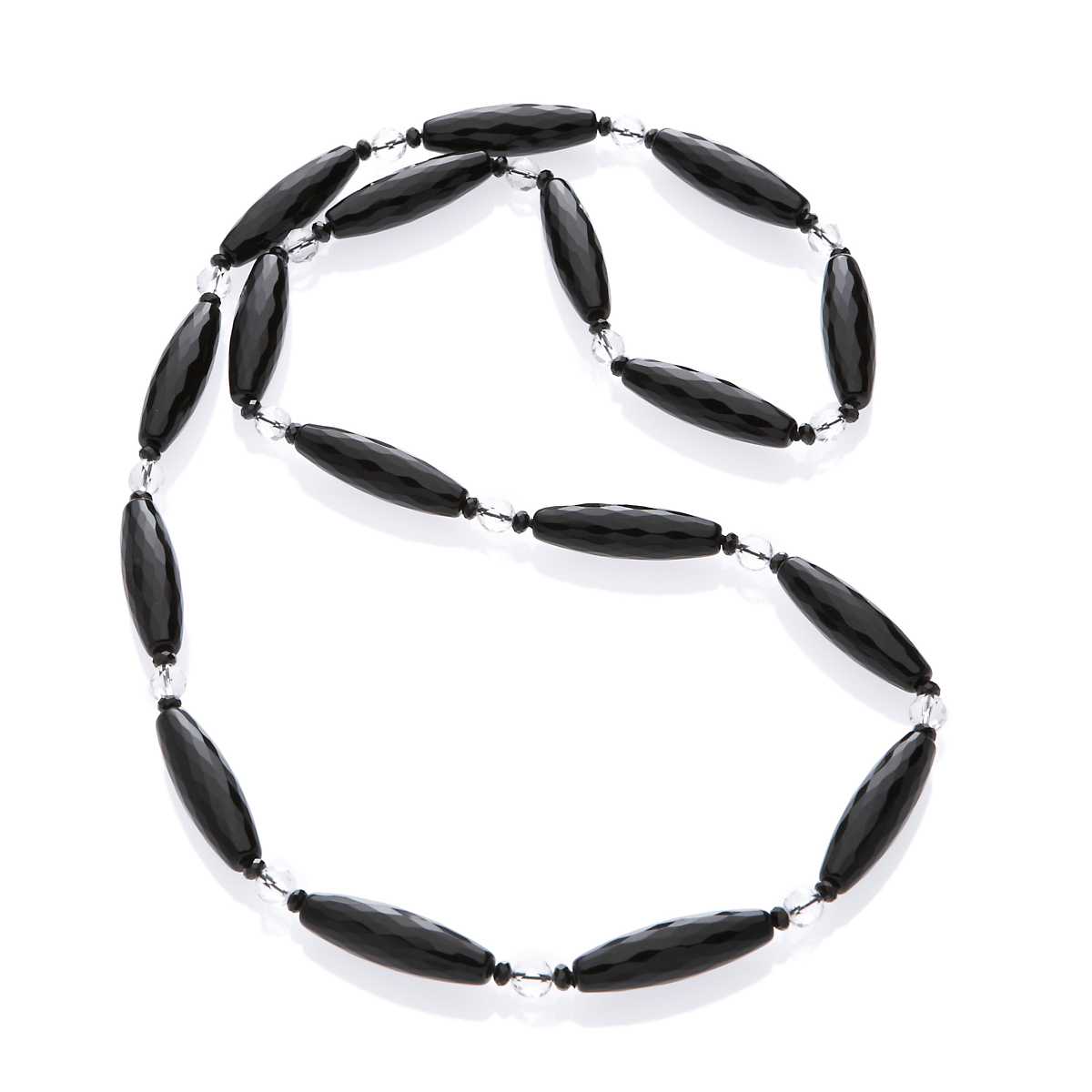 Gump's Onyx, Spinel & Rock Crystal Rope