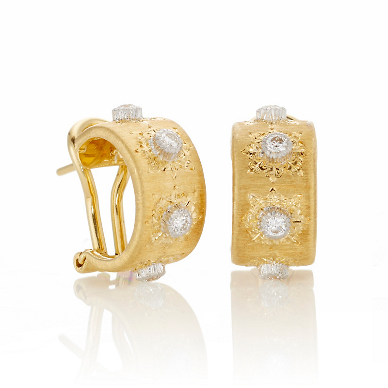Buccellati Classica Petite Hoop Earrings