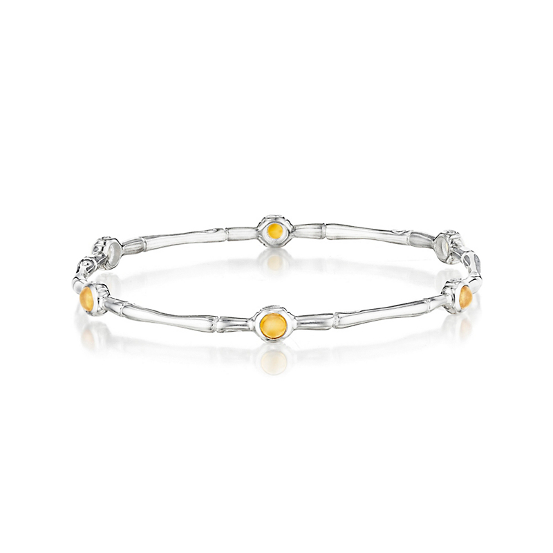 Citrine Bamboo Bangle