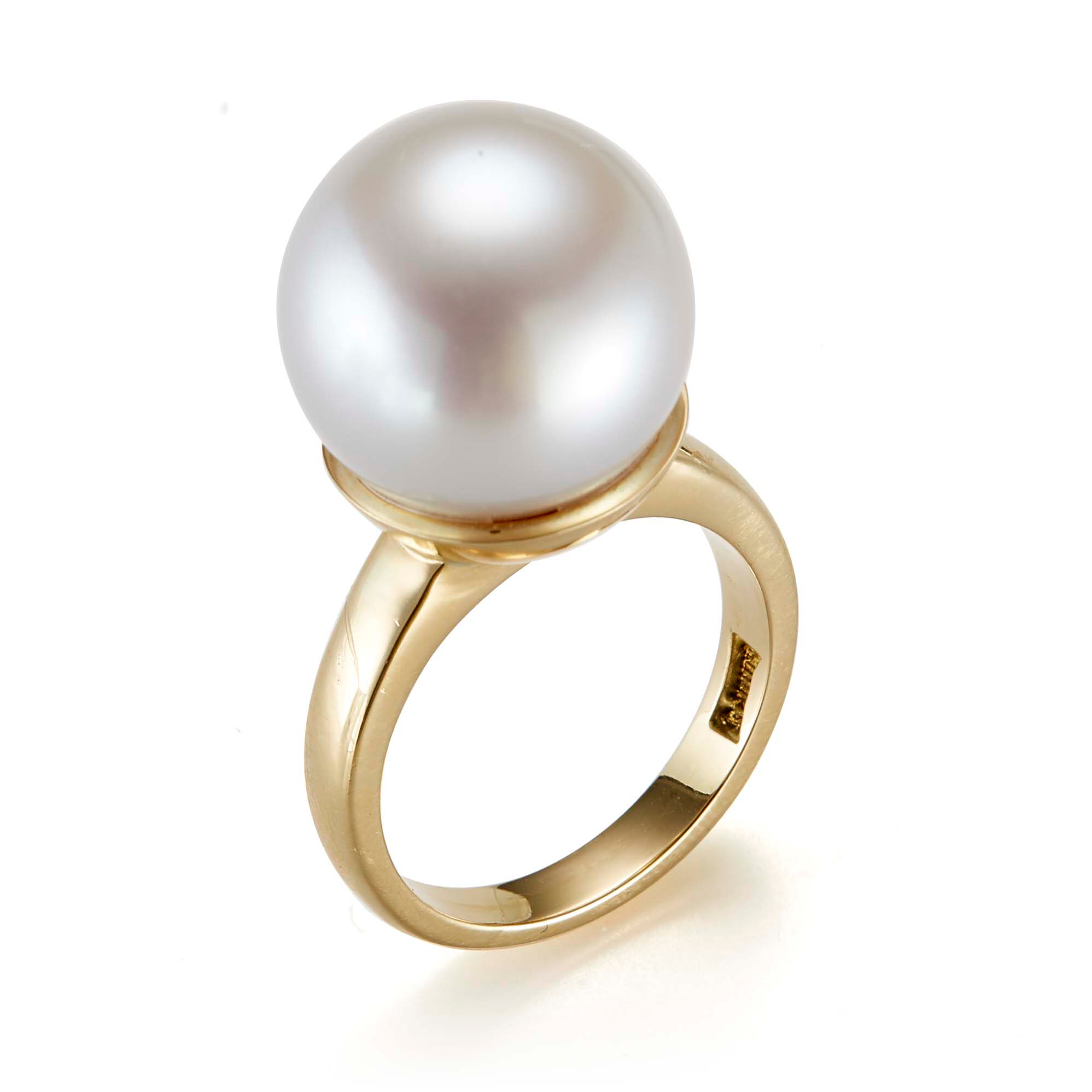 Gump's White South Sea Pearl Ring