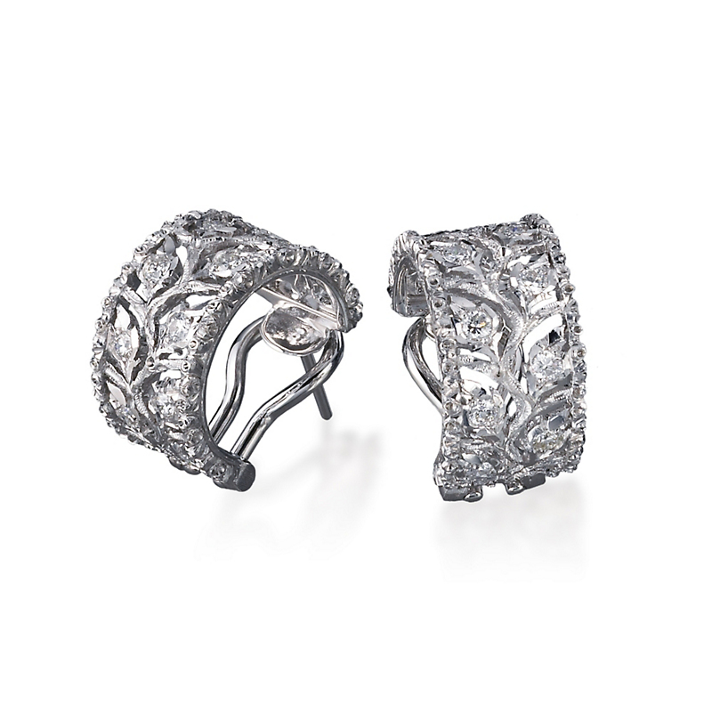 Buccellati Ramage Hoop Earrings
