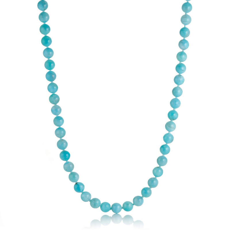 Gump's Amazonite Rope Necklace