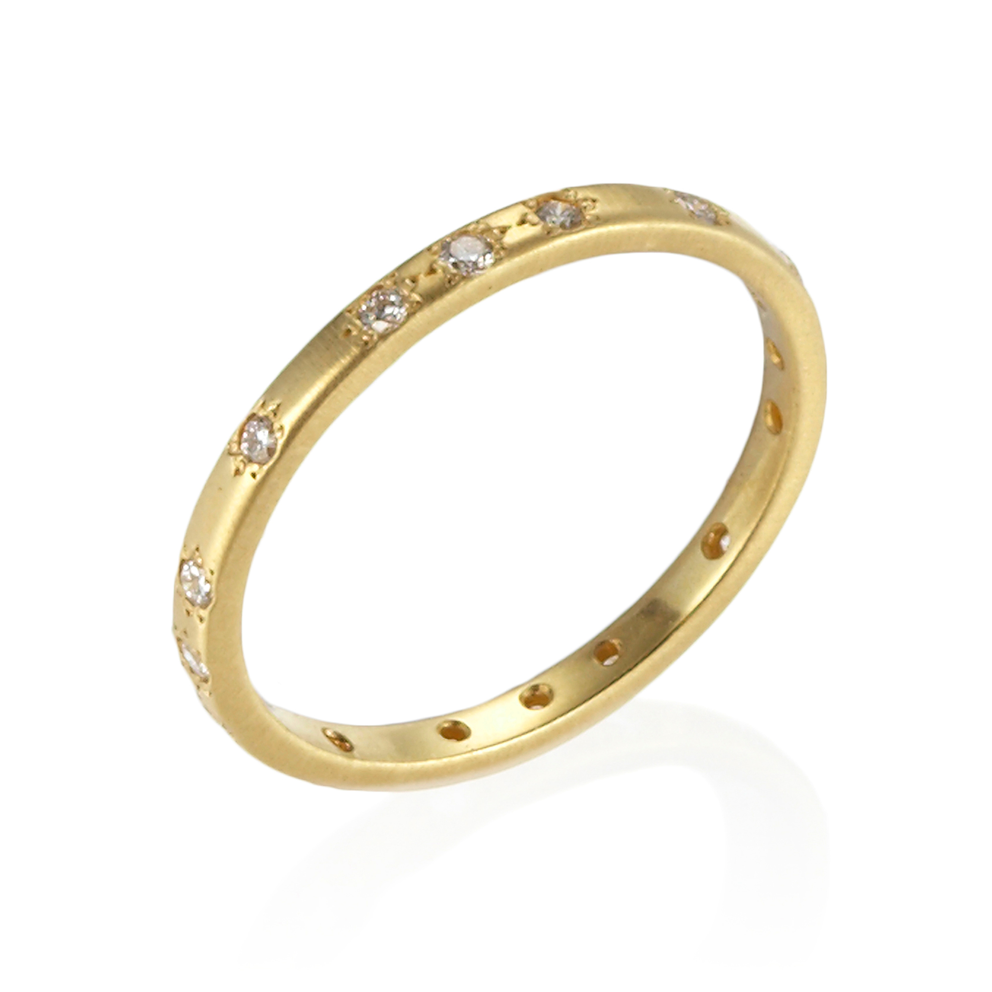 Adel Chefridi Thin Diamond Band