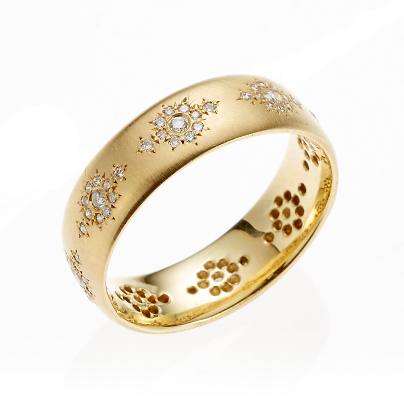 Adel Chefridi Diamond Shimmer Ring