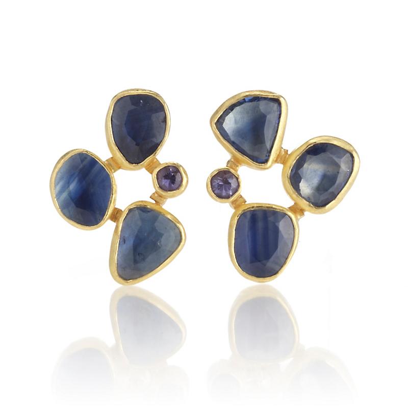 Petra Class Blue & Lavender Sapphire Cluster Earrings  Gump's. Jewel Tanzanite. Tanzanite Stone Tanzanite. Pearl Earrings Tanzanite. Eye Tanzanite. December 21 Tanzanite. Browns Tanzanite. Colored Tanzanite. December 2 Tanzanite