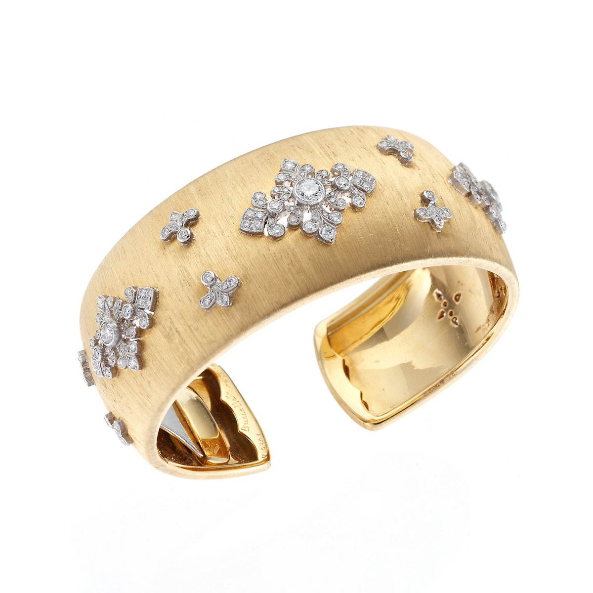 Buccellati Gold & Diamond Dream Cuff