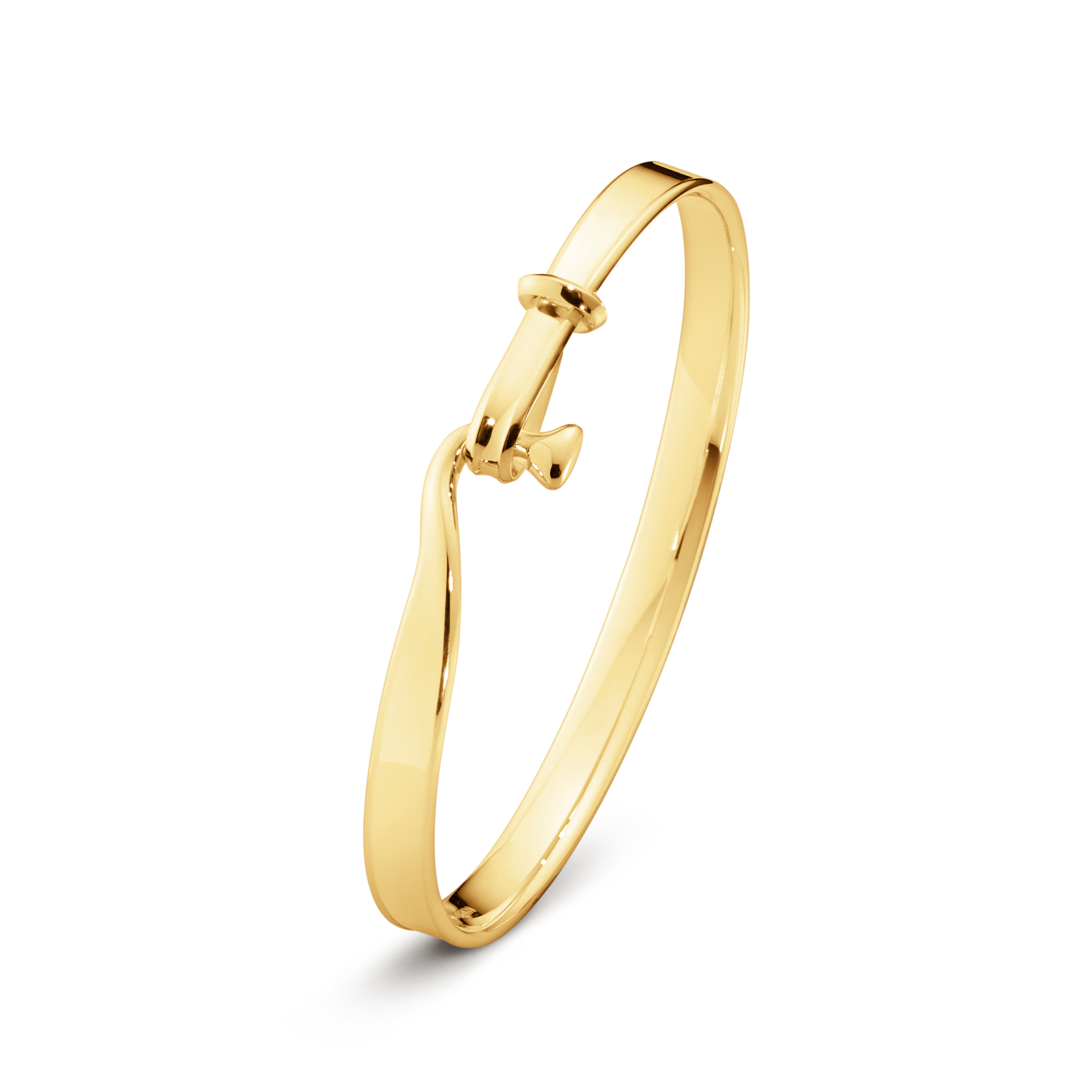 Georg Jensen Vivianna Yellow Gold Bangle