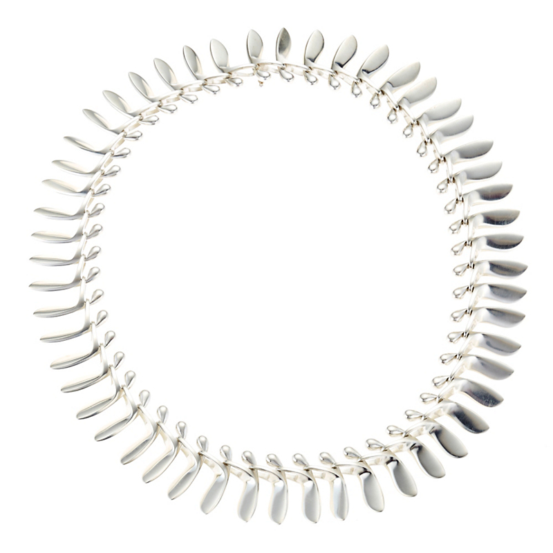 Georg Jensen Archive Collection Sterling Silver Necklace