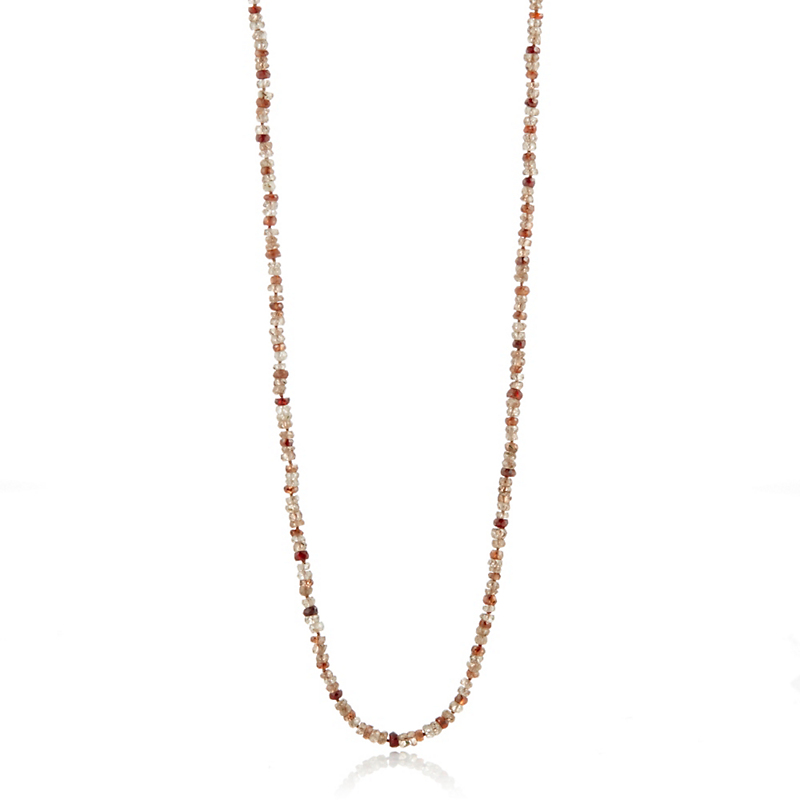 Gump's Multicolor Faceted Zircon Rope Necklace