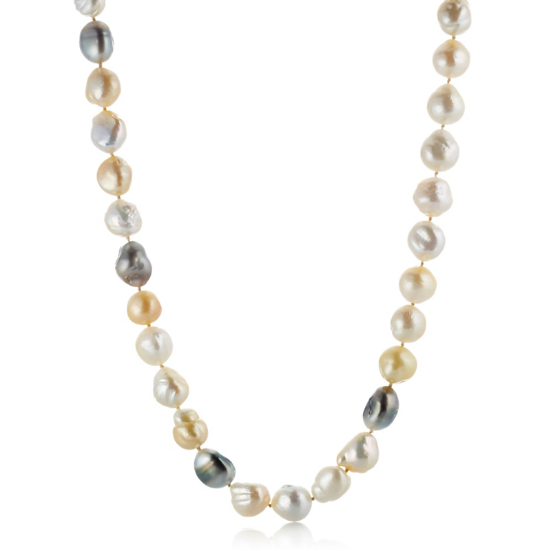 Gump's South Sea & Tahitian Pearl Rope Necklace