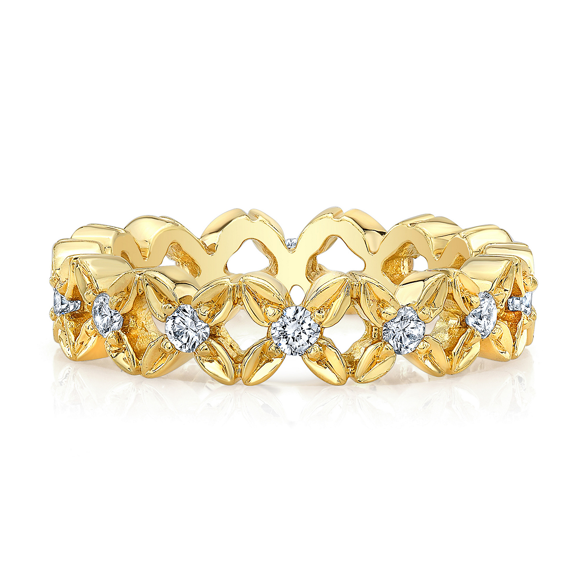 Aaron Henry Florette Eternity Ring