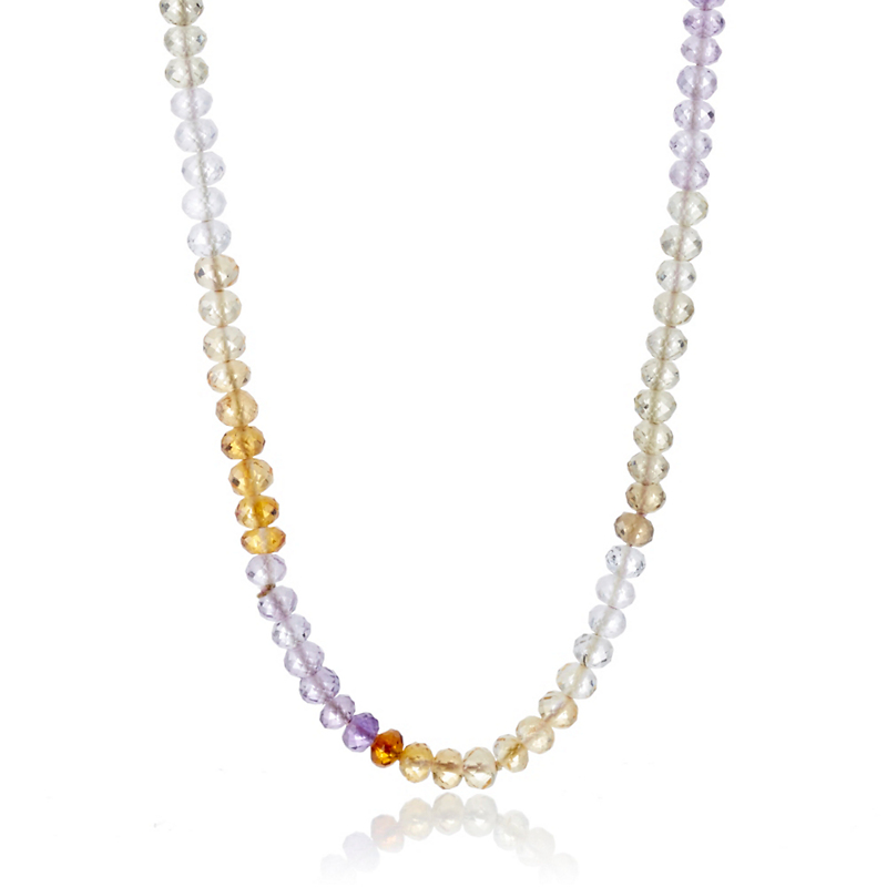 Gump's Multicolor Faceted Quartz Rope