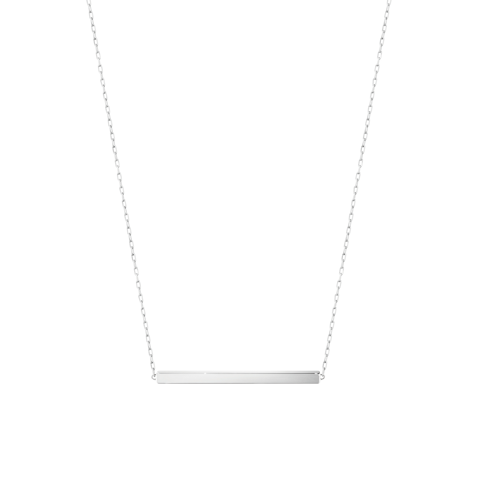 Georg Jensen Sterling Silver Aria Horizontal Bar Necklace