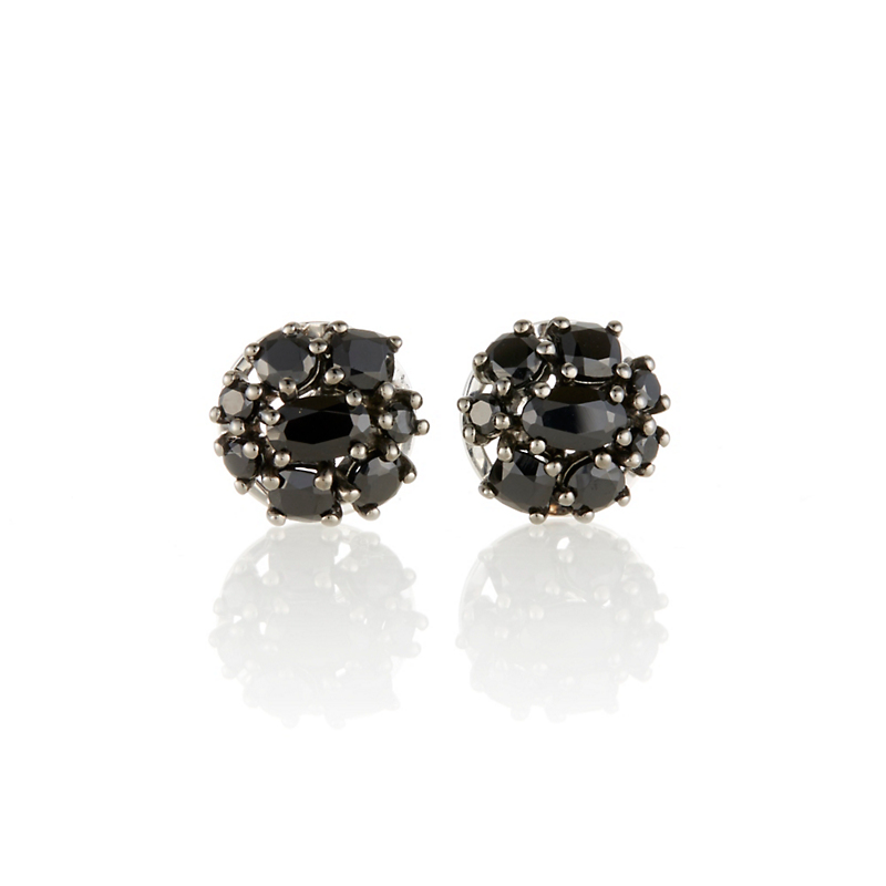Gump's Spinel Cluster Stud Earrings