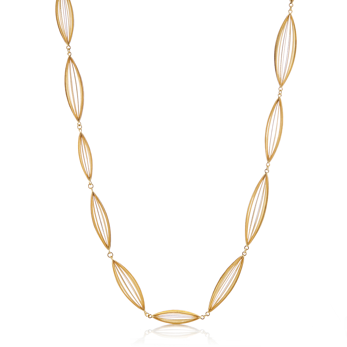 McTeigue & McClelland Gold Baccello Necklace