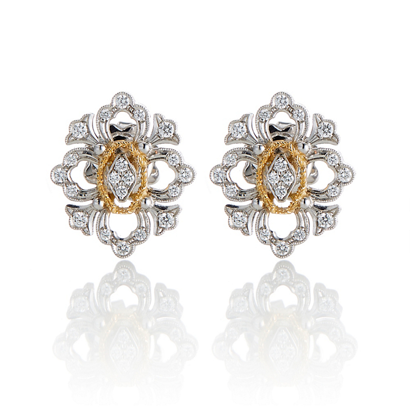 Buccellati Diamond Opera Earrings