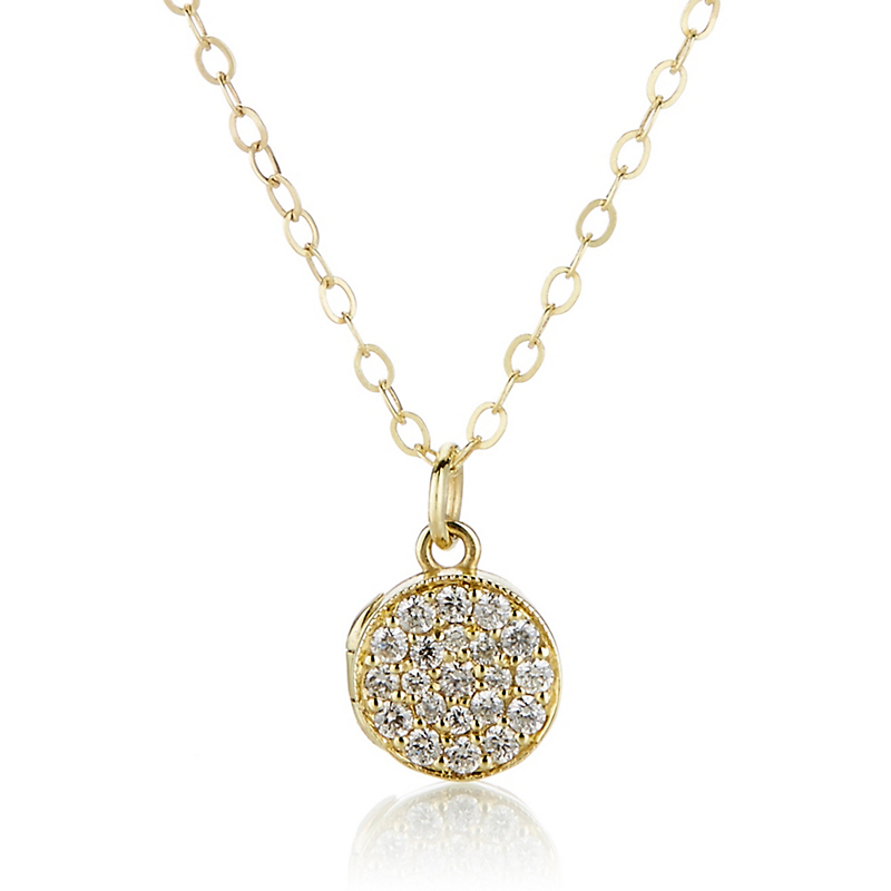 ILA Zerrah Diamond Pendant Necklace