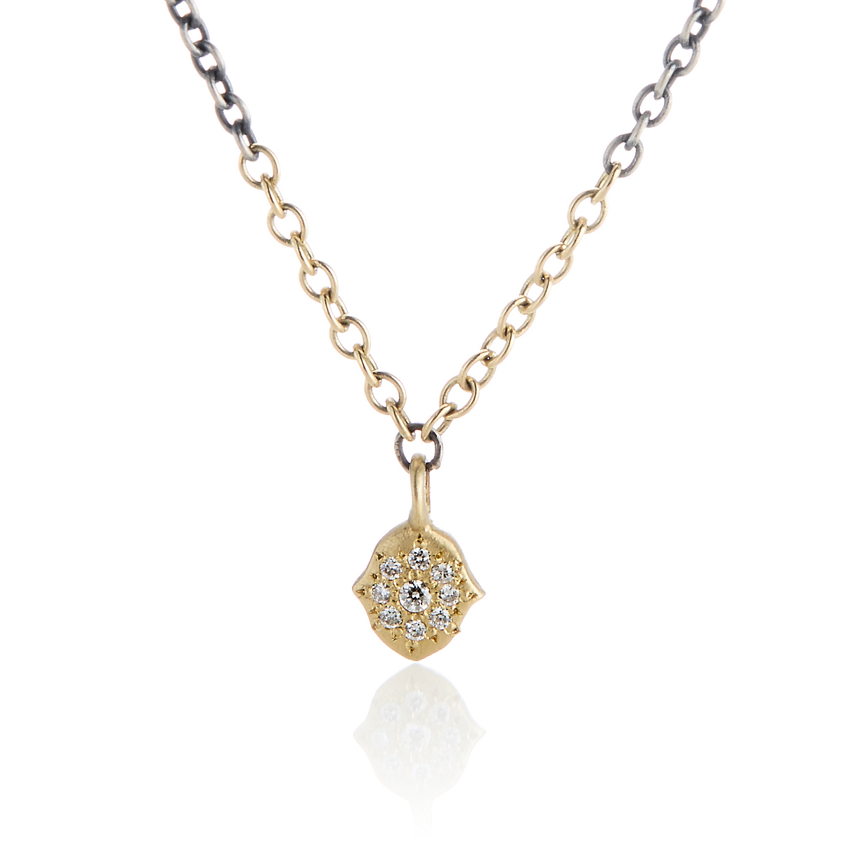 Adel Chefridi Petite Harmony Grace Charm Diamond Necklace