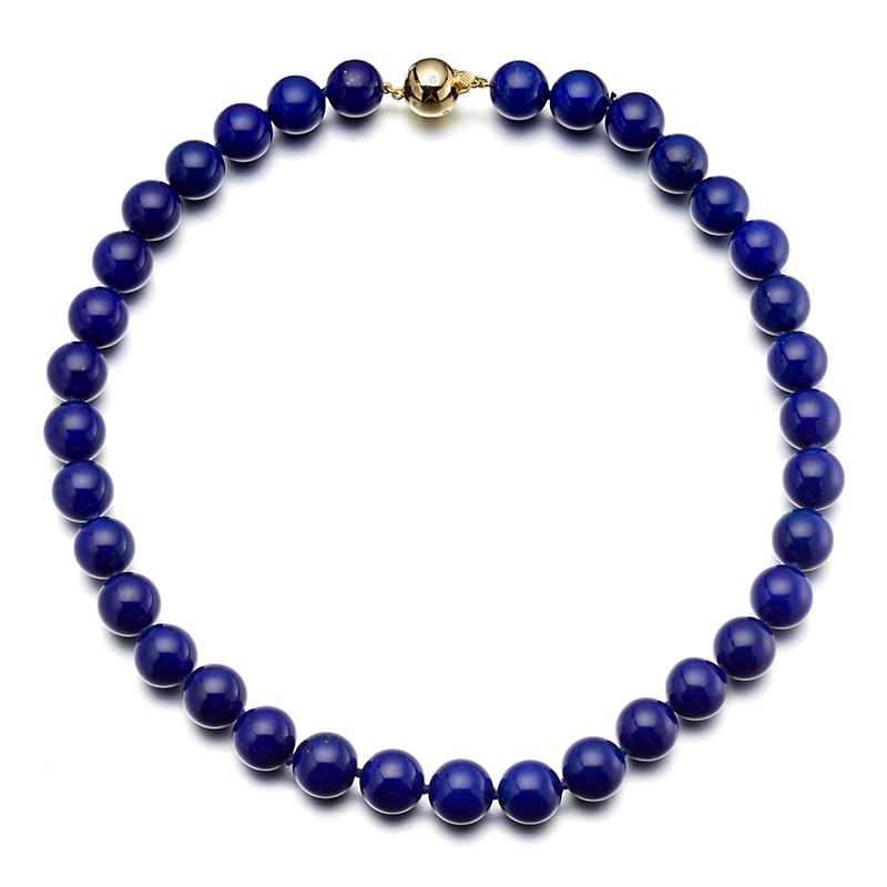 Gump's  Lapis & Diamond Necklace