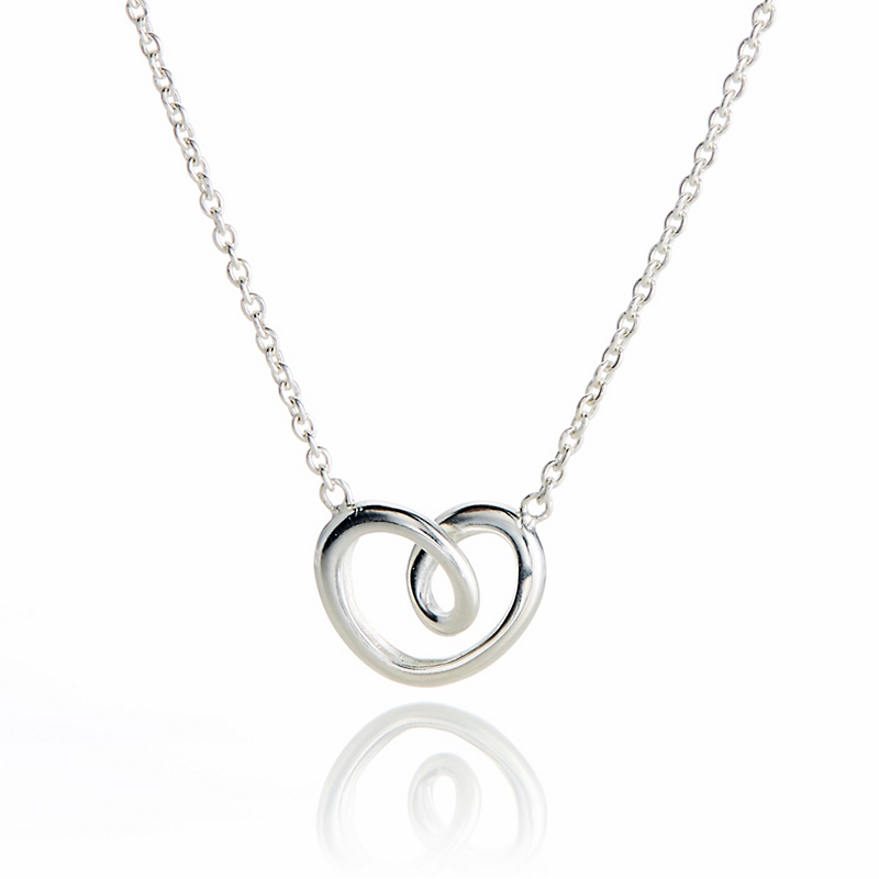Georg Jensen Small Heart Necklace