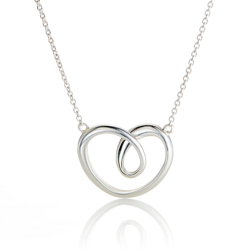 Georg Jensen Large Heart Necklace