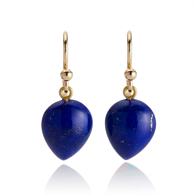 Gump's Lapis Teardrop Earrings