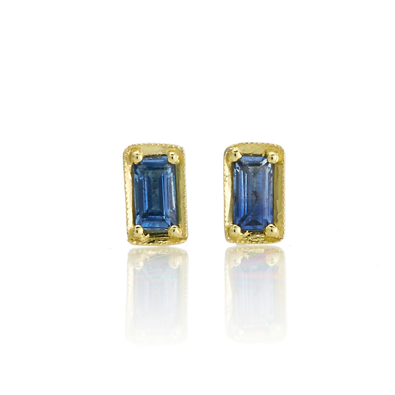 ILA Leone Petite Blue Sapphire Earrings