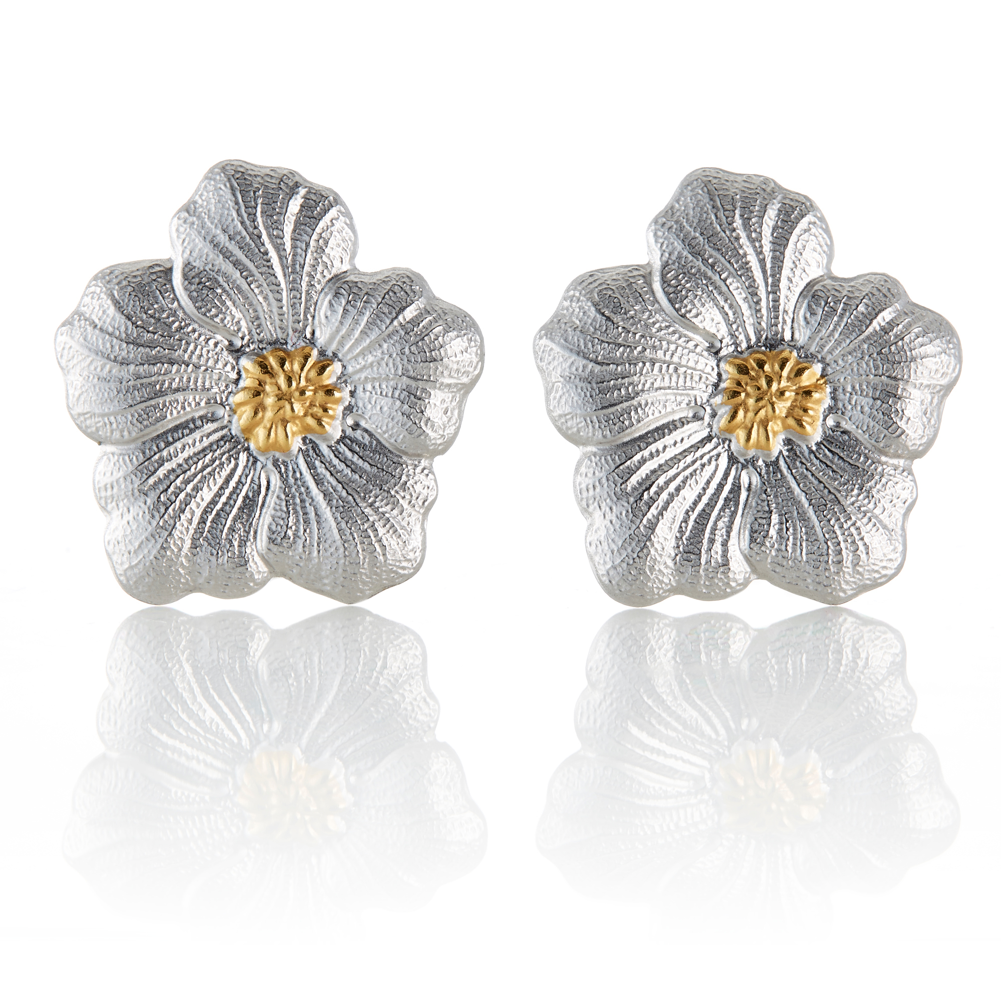 Buccellati Gardenia Large Earrings