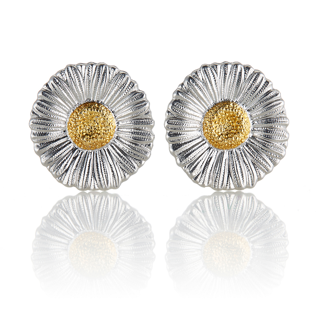 Buccellati Small Daisy Blossom Stud Earrings