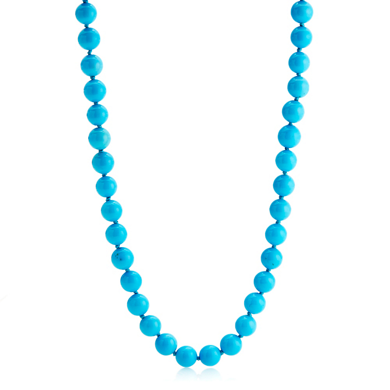 Gump's Long Turquoise Necklace