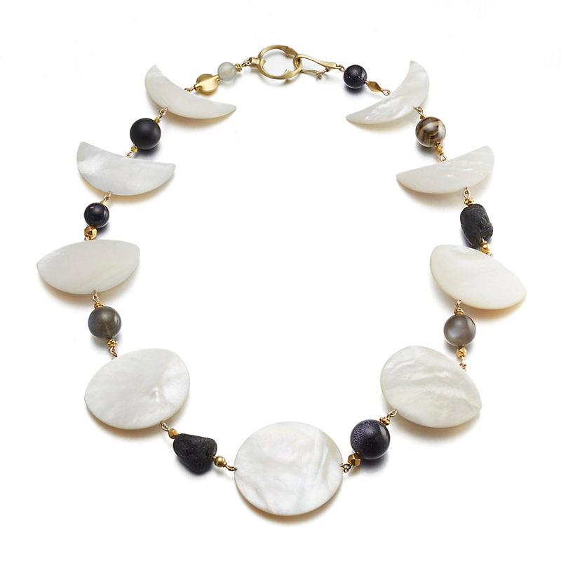 Gabriella Kiss Phases of the Moon Necklace