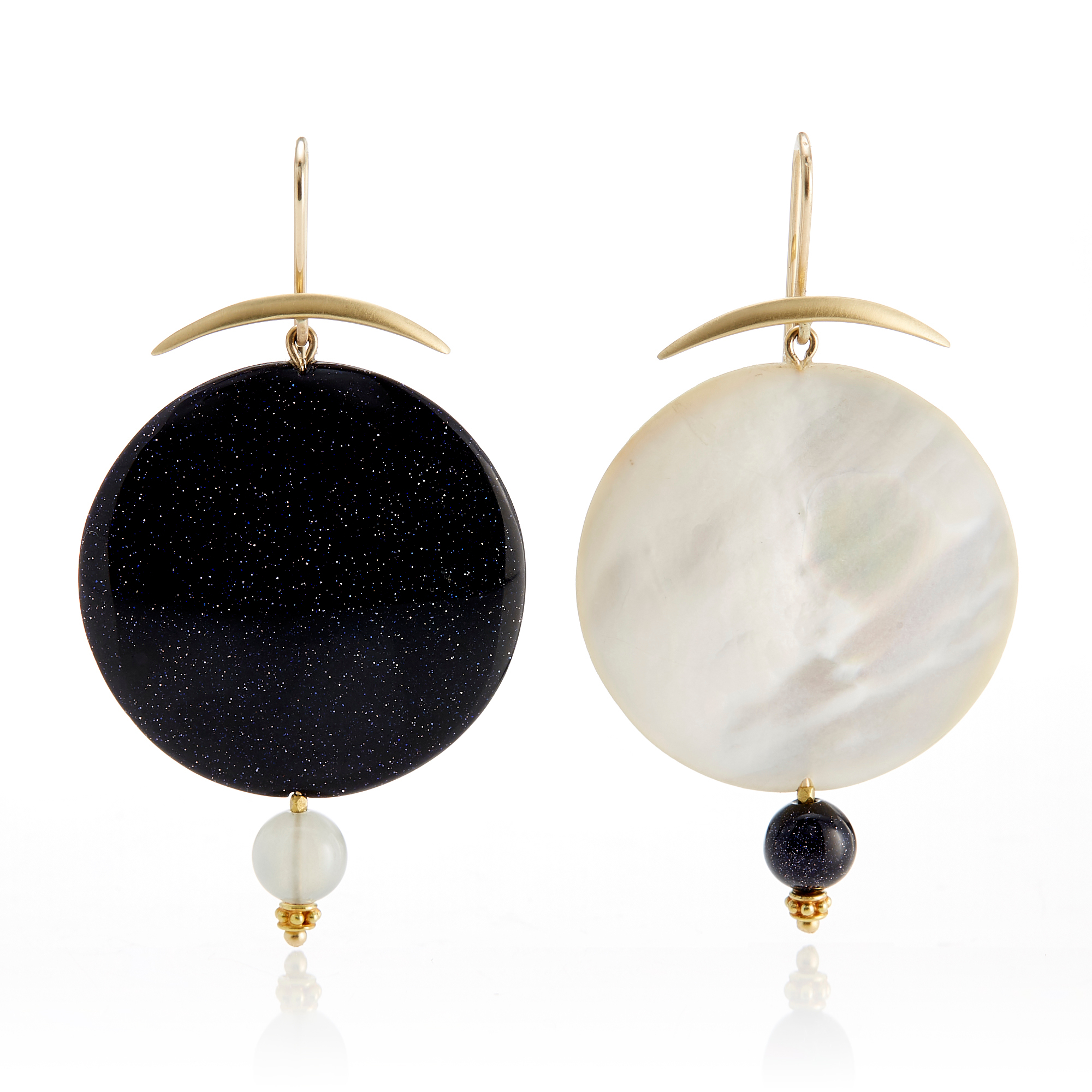 Gabriella Kiss Full Moon Earrings