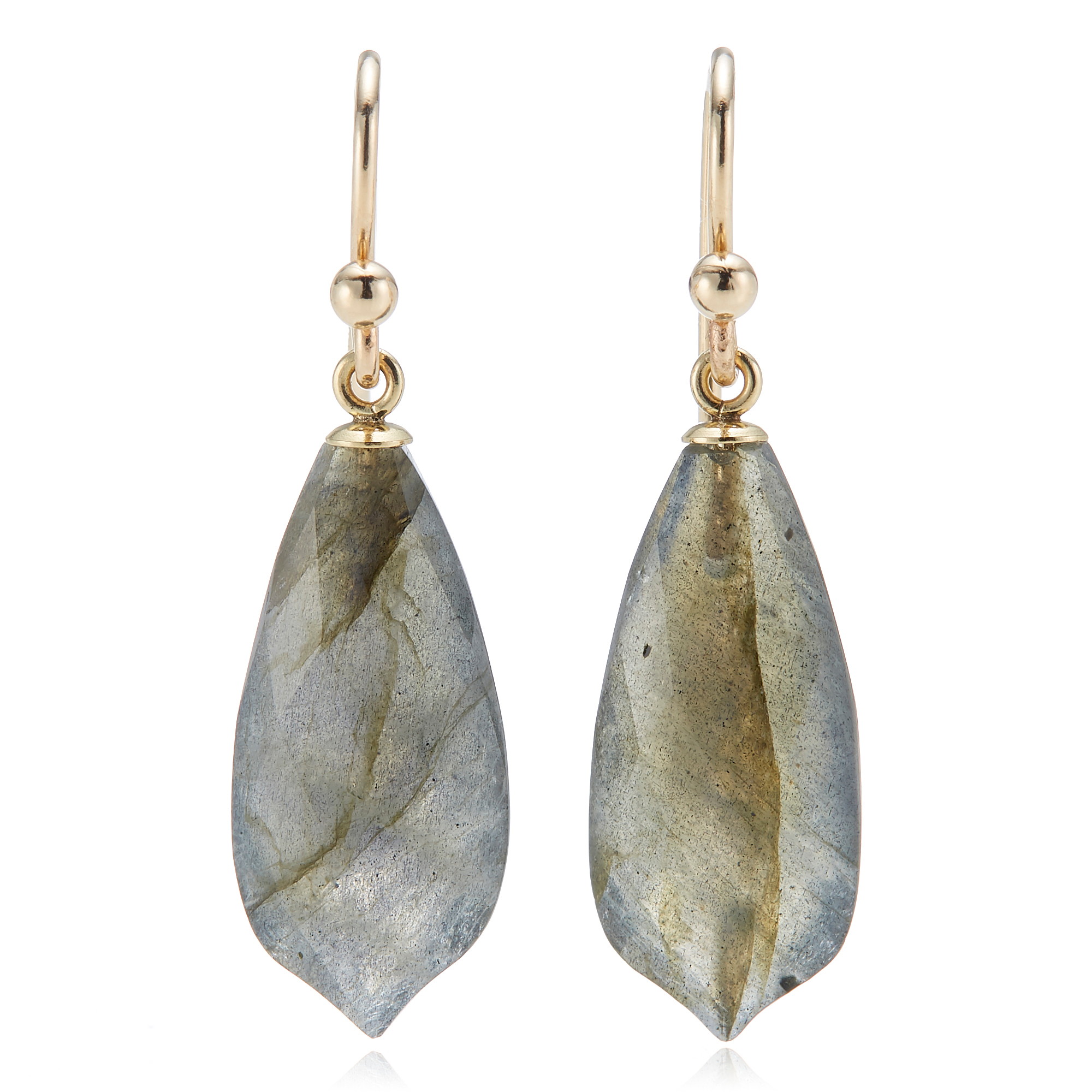Gump's  Faceted Labradorite Earrings