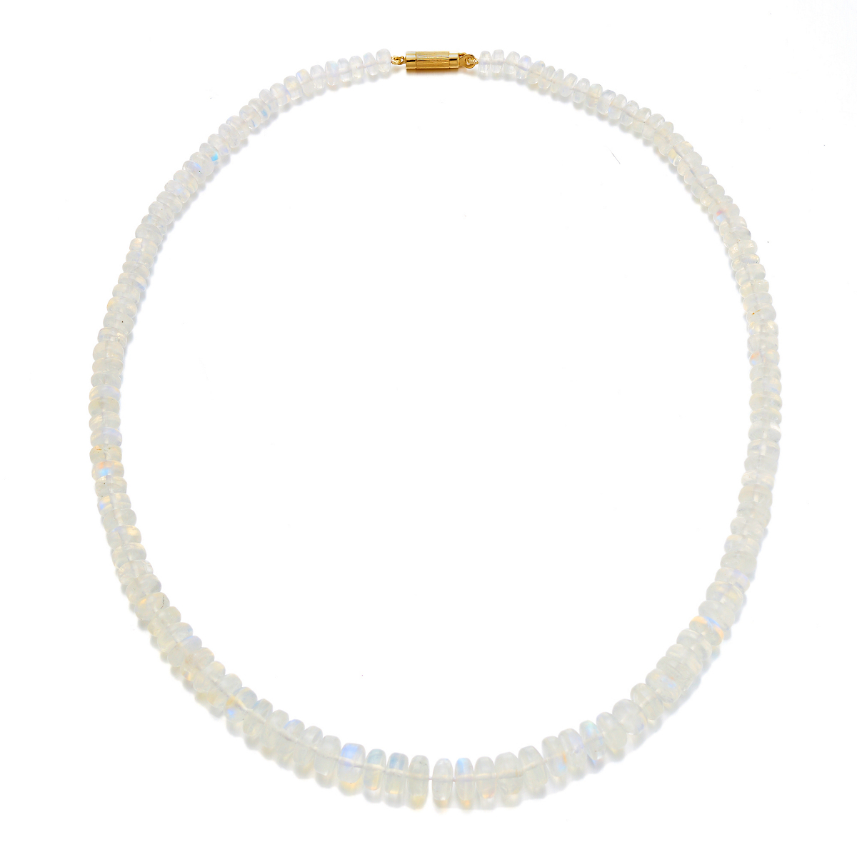 Gump's Moonstone Rondelle Necklace