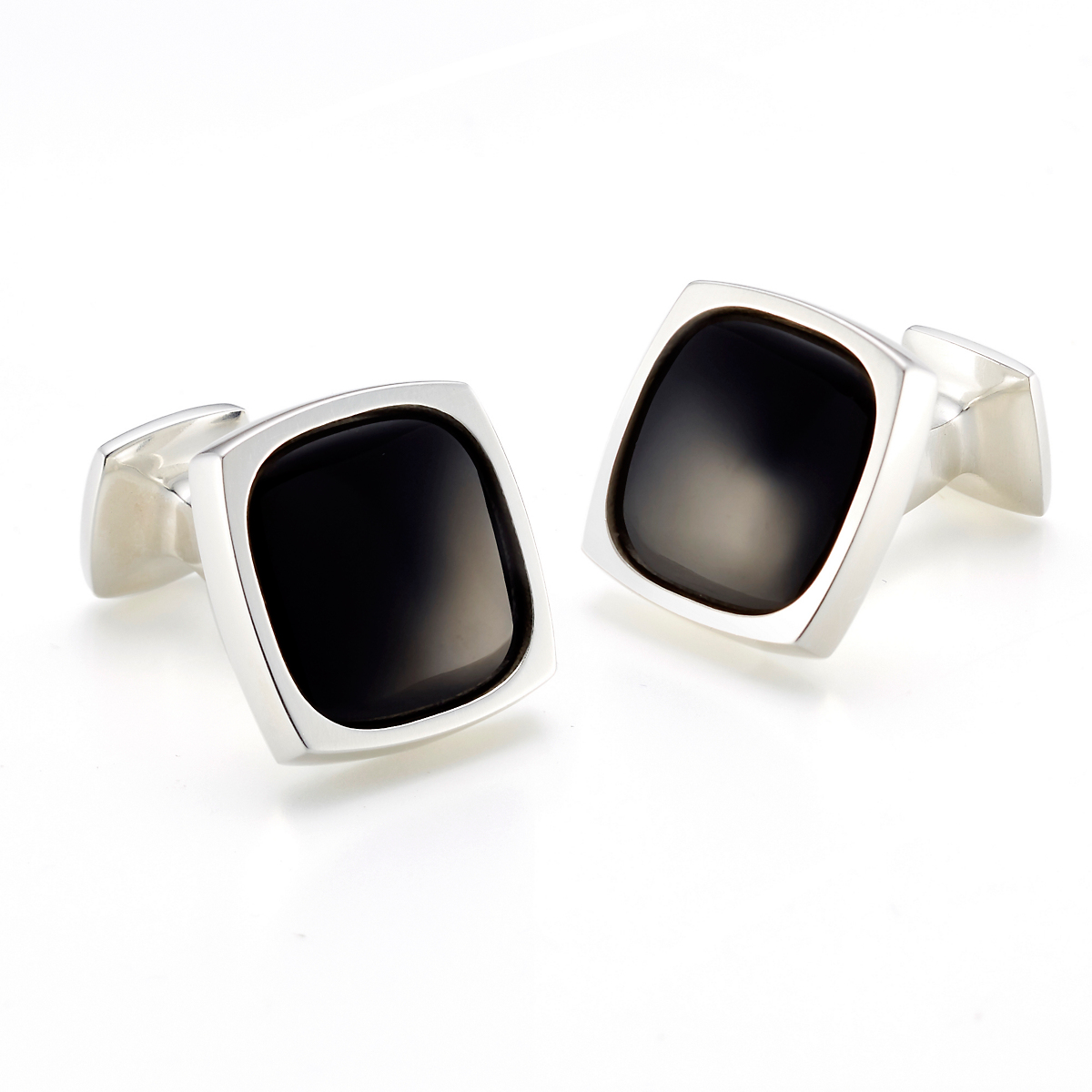 Georg Jensen Black Onyx Square Cufflinks