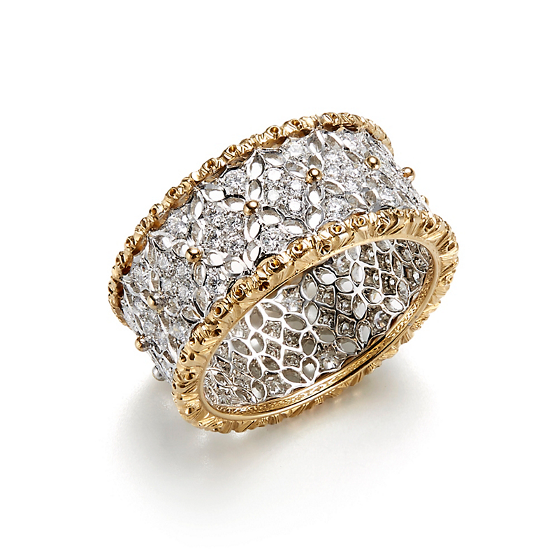 Buccellati Vietri Eternelle Diamond Band Ring