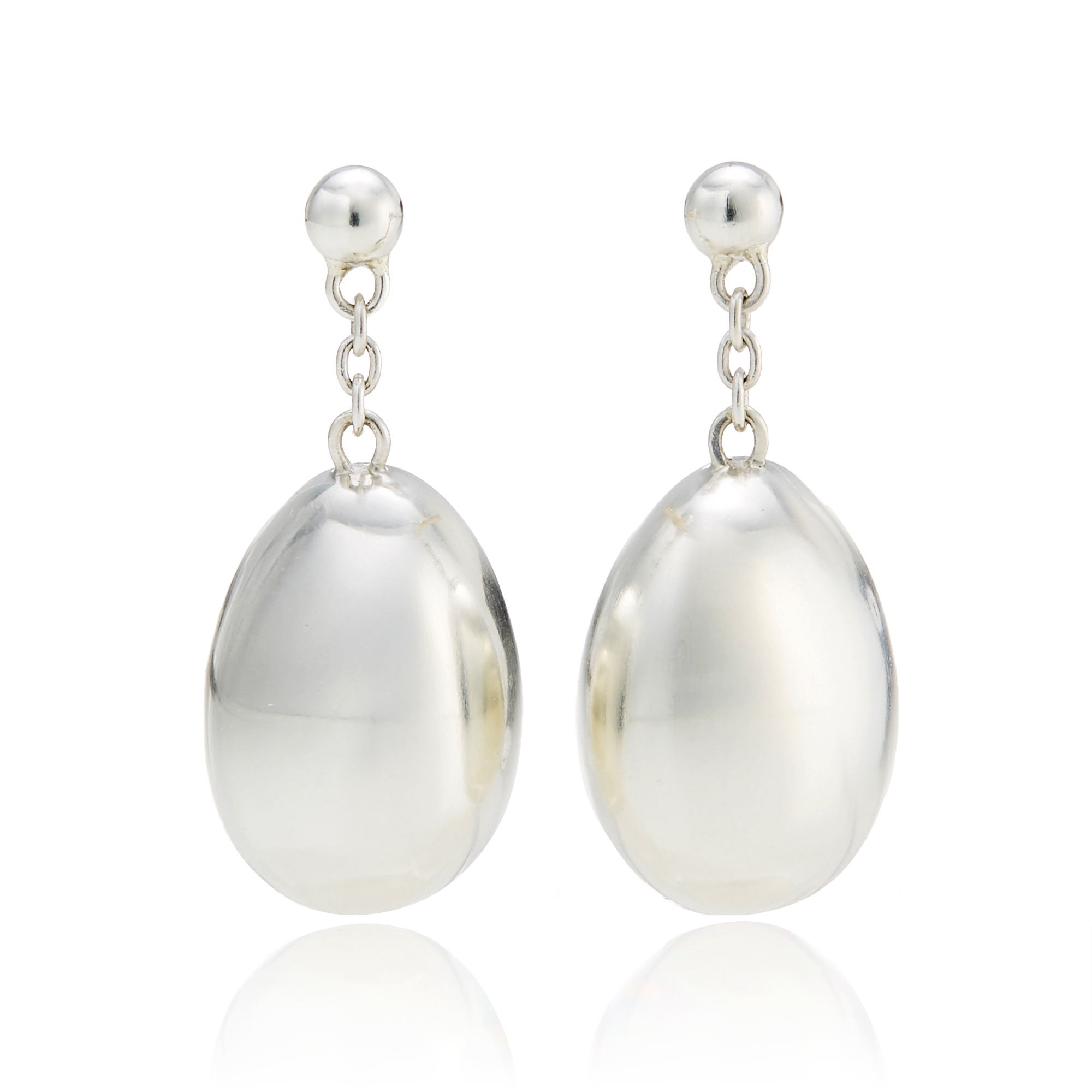 Georg Jensen Astrid Silver Drop Earrings