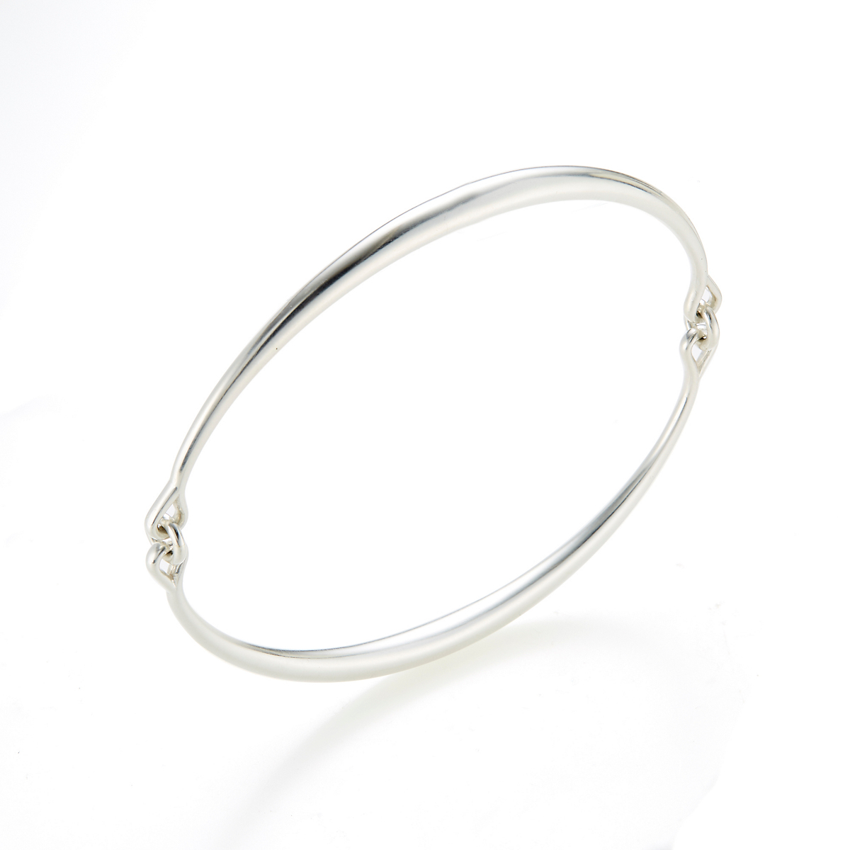 Georg Jensen Astrid Large Silver Bangle
