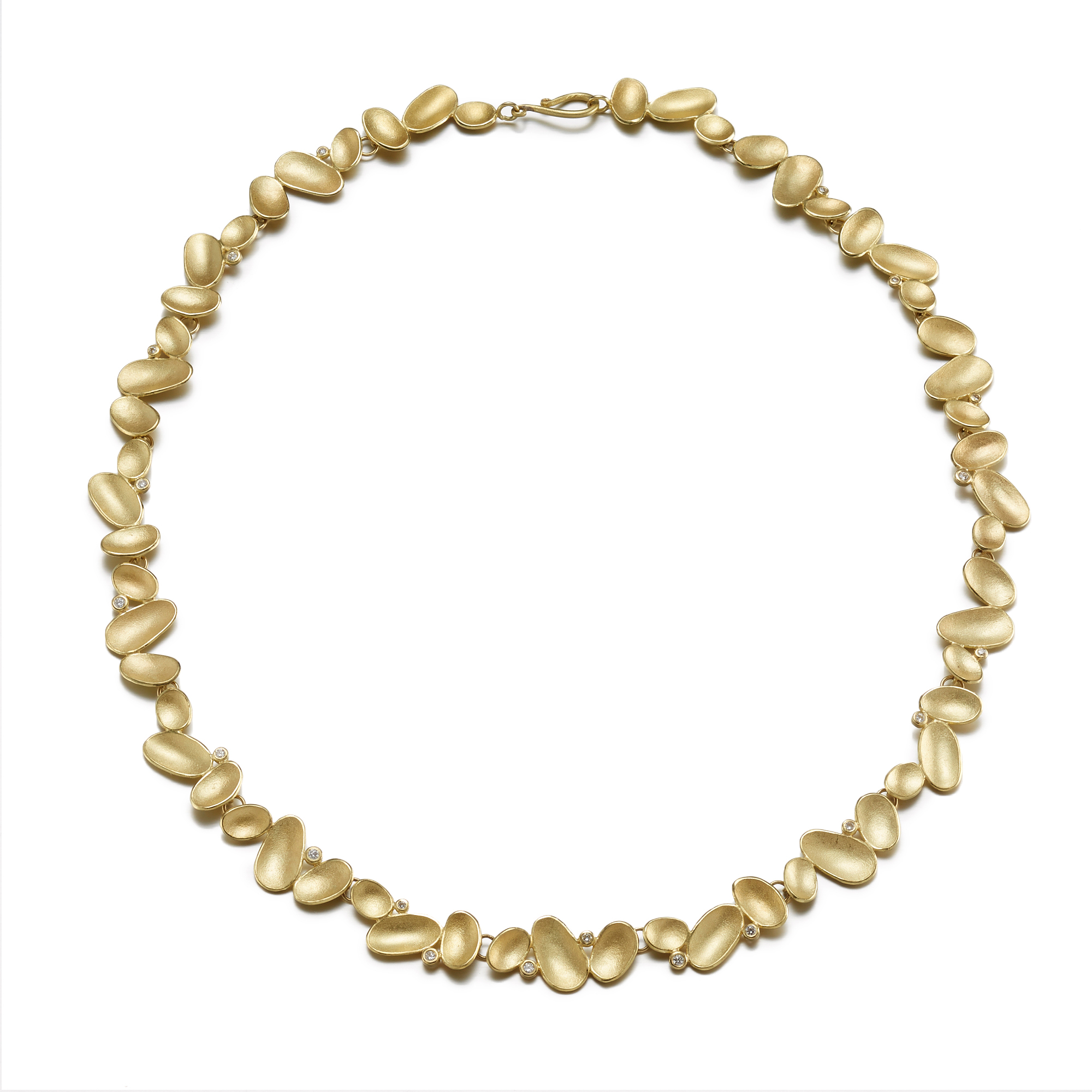 Barbara Heinrich Shell & Diamond Necklace