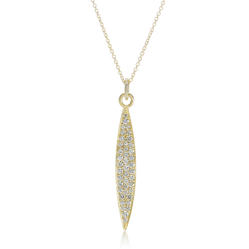 ILA Odette Diamond Marquise Necklace