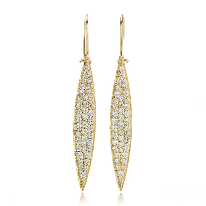 ILA Odette Diamond Marquise Earrings